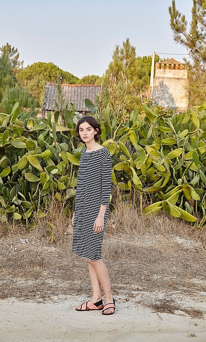 Morten stripe dress
