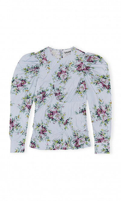 Heather floral blouse by Ganni