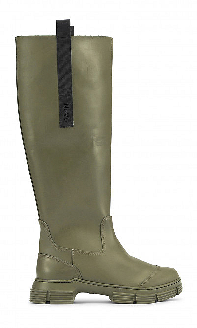 Rubber boots by Ganni