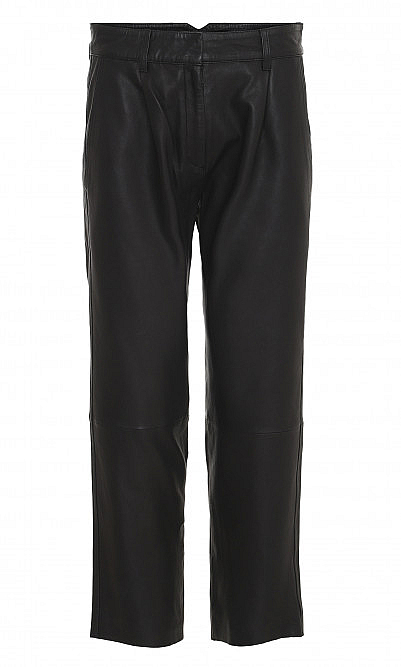 Leather miko pants
