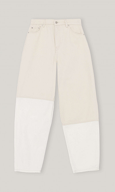 Stray vanilla ice jeans by Ganni