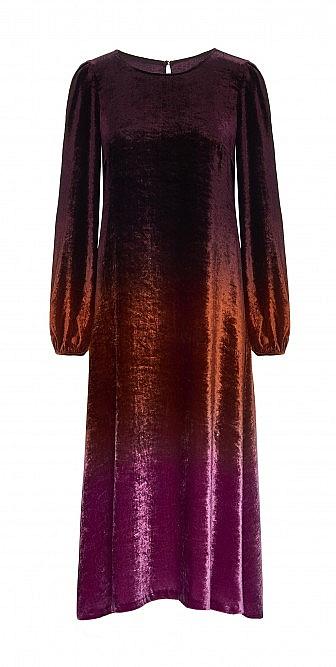 Capo velvet dress