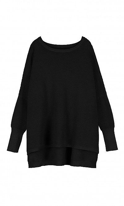 Jack sweater - carbon black