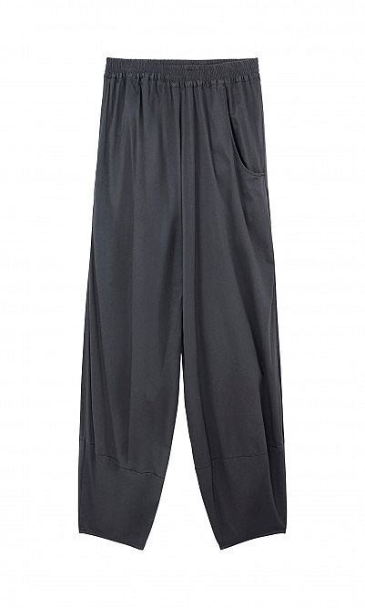 Grey loose pants