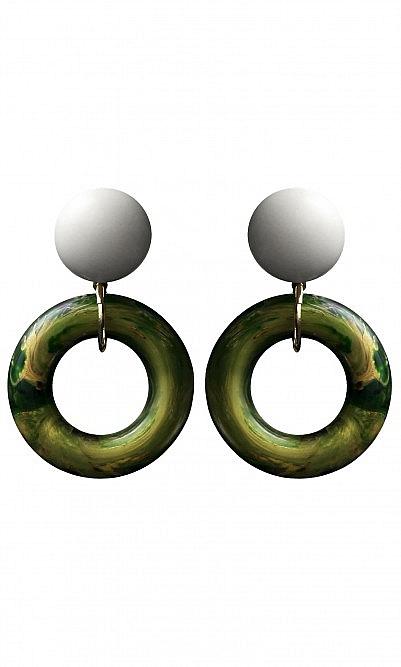 Venice clip earrings