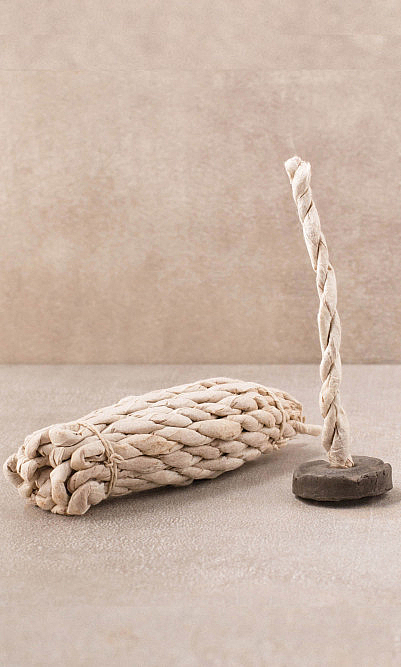 Ayurvedic rope incense