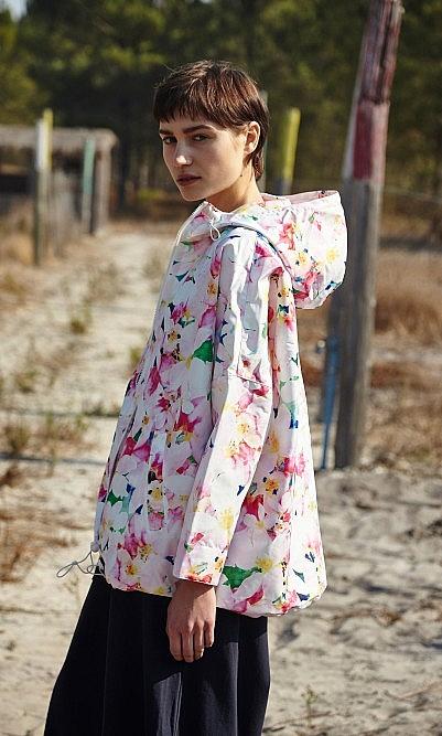 Blossom rainjacket