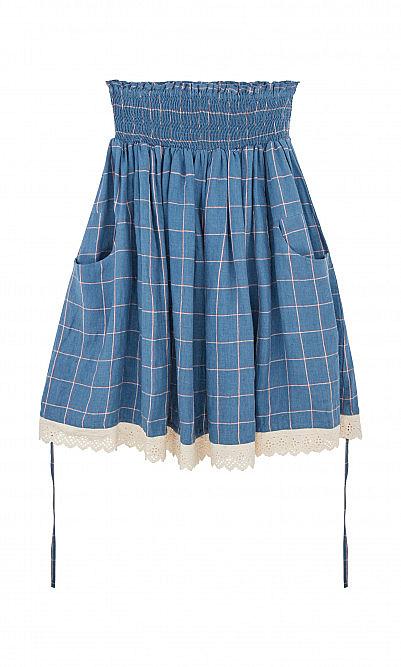 Tilly linen skirt