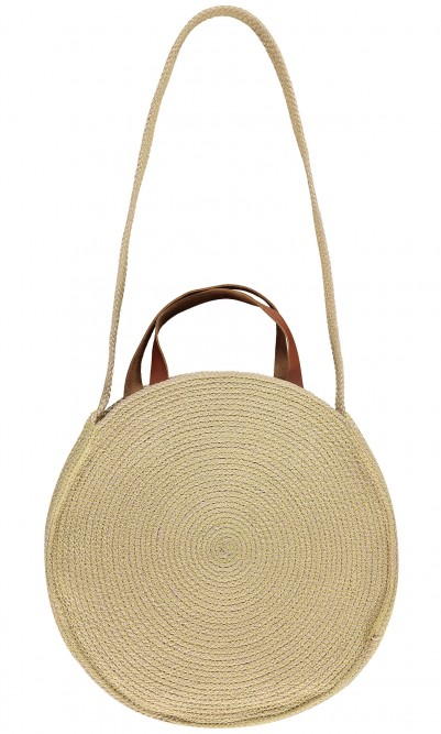 Rumi straw bag