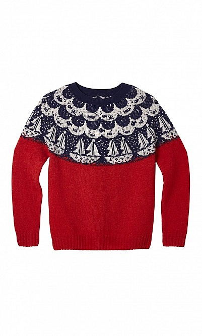 Red Boat Sweater