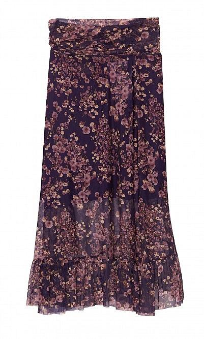 Vivian wrap skirt
