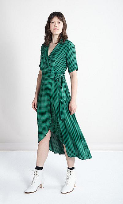 Ganni Foliage dress