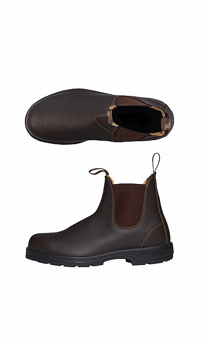 Brown outback boots