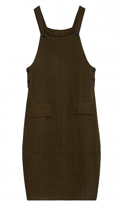 Gardeners dungaree dress