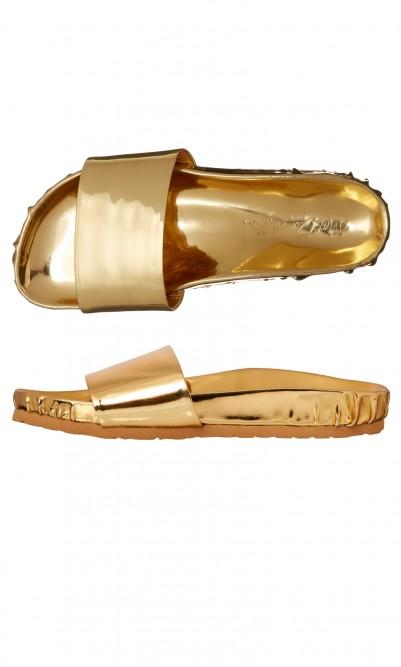 Gold slides