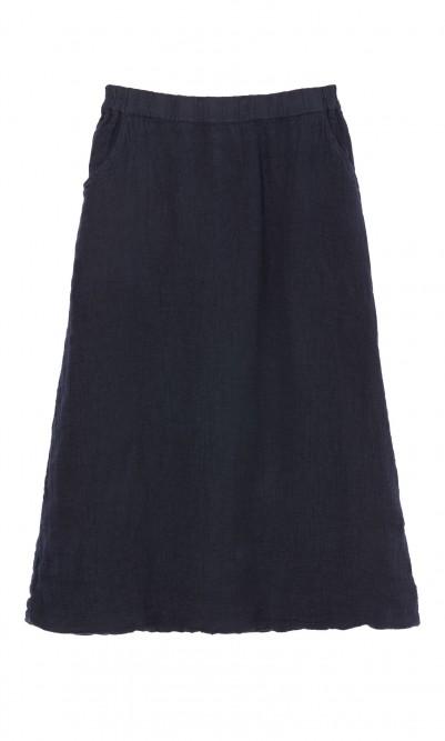 Baltic linen skirt