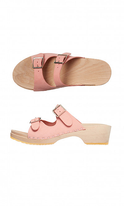 Double strap clogs