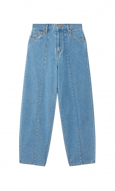 Medium bleached jeans