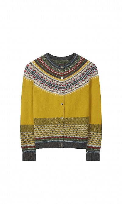 Harris fairisle cardigan