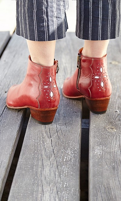 Pablo ruby boots