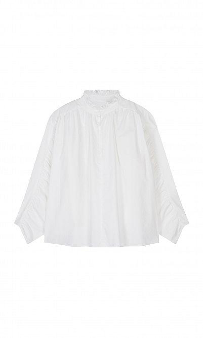 Nanette ruffle blouse