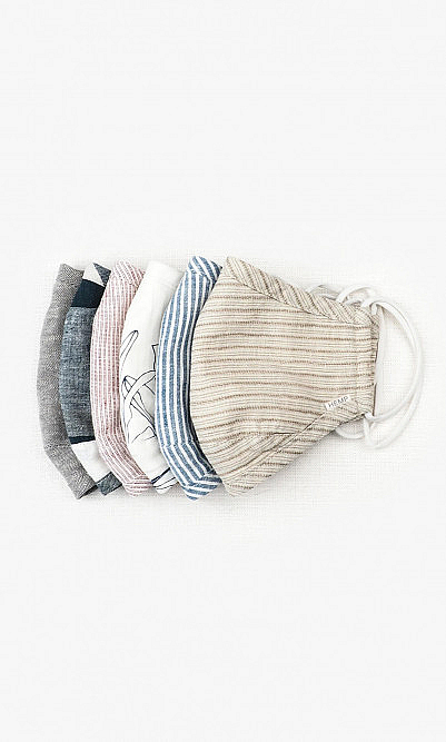 Organic hemp bundle (6 masks)