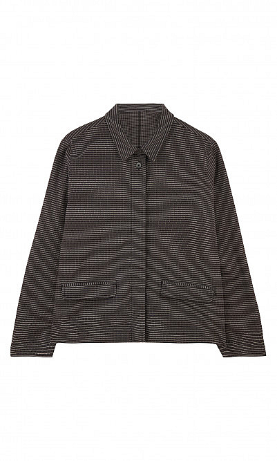 Black comb jacket