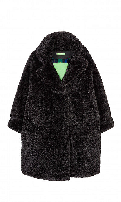 Black Molly coat