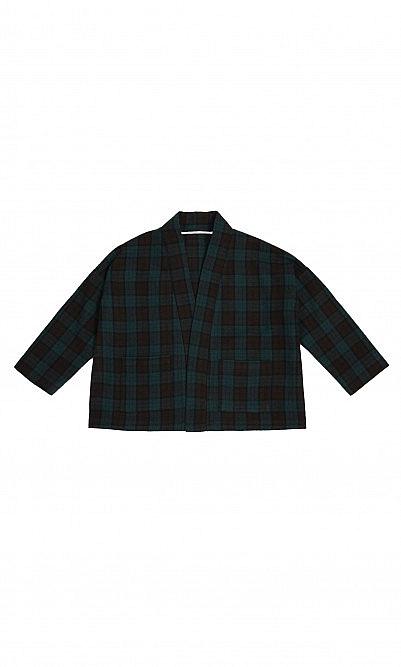Glen wool jacket
