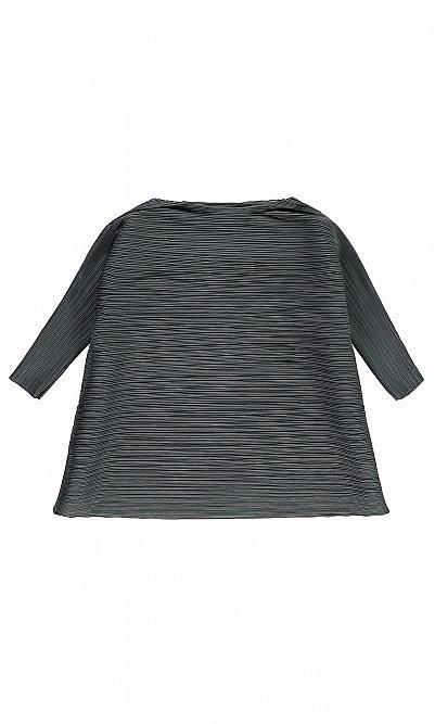 Grey pleat top