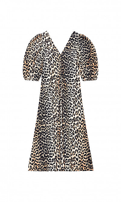 Ganni Leopard dress