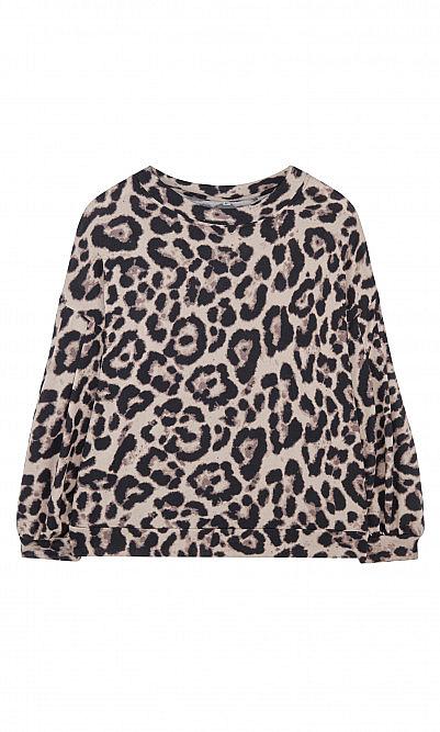 Bellingham leopard top