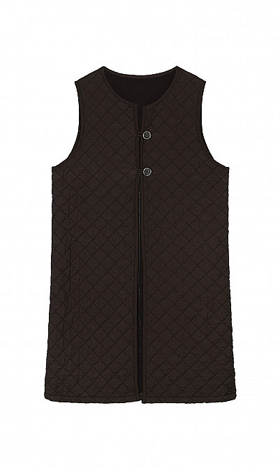 Jaunty quilted gilet
