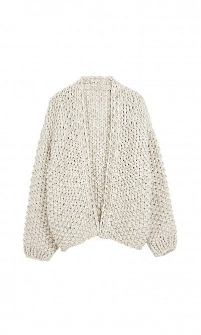 Milk knit cardigan
