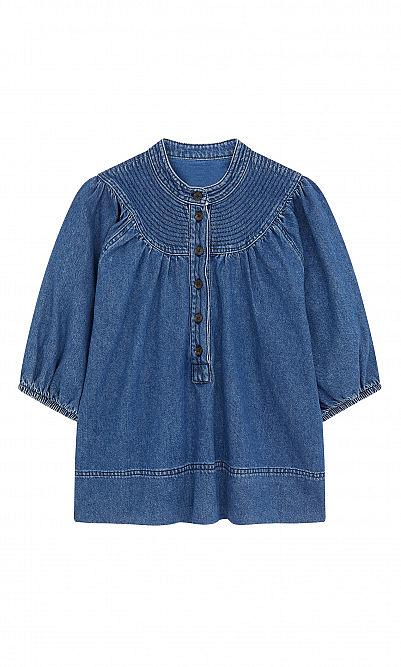 Jeanie denim blouse