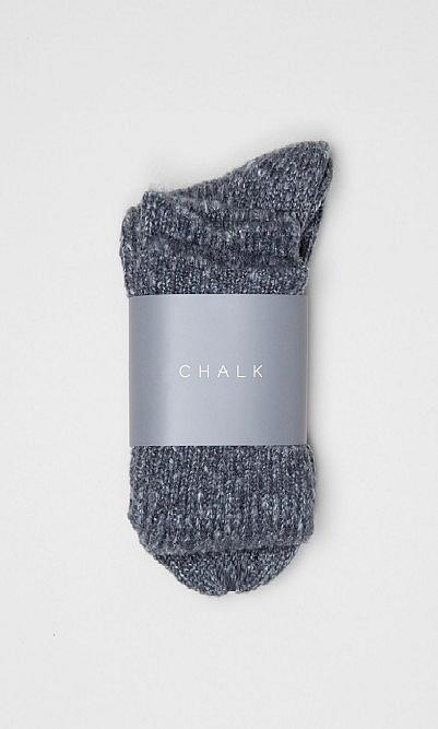 Grey cosy socks
