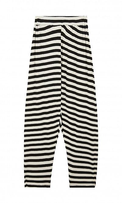 Oyster catcher pants - black stripe