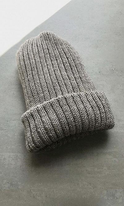 Tricoteur beanie - beige