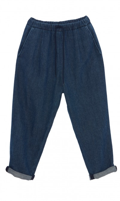 Blue indigo jeans