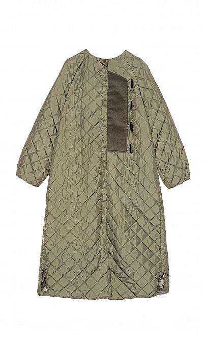Ganni Ripstock coat
