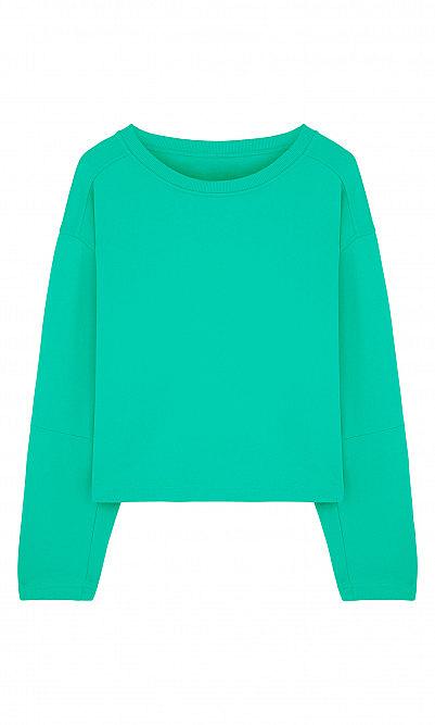 Jade green sweater by Humanoid