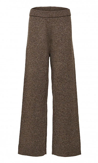 Speckled wool trousers