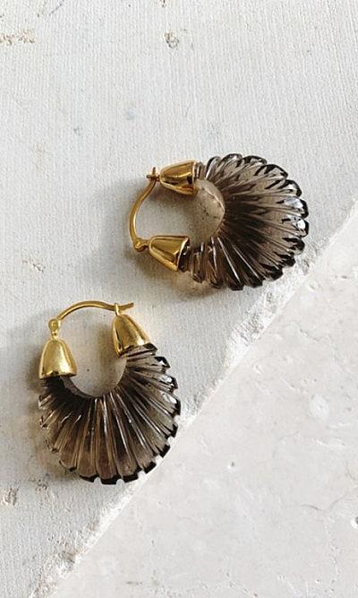 Dakari smokey earrings