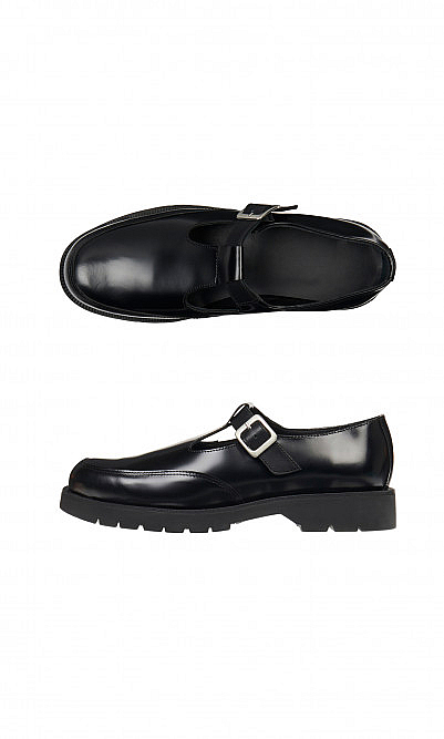 Glossed Mary Janes
