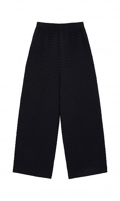 Carbon pintuck pants by Yacco Maricard