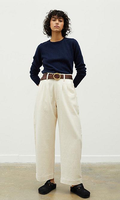 Navy soft sweater