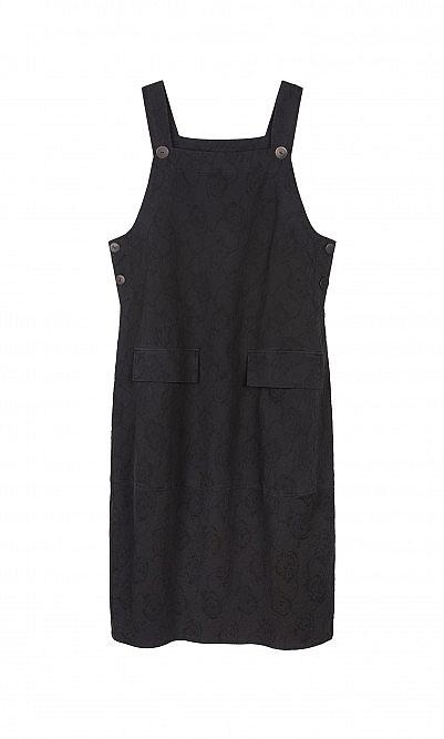 Beth dungaree dress