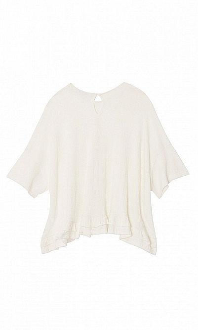 Eli ruffle blouse