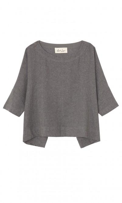 Grey hemp shirt