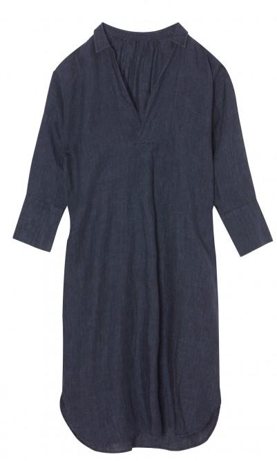 Artist linen dress